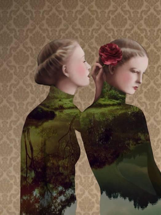 Цветок в волосах. Автор: Daria Petrilli.