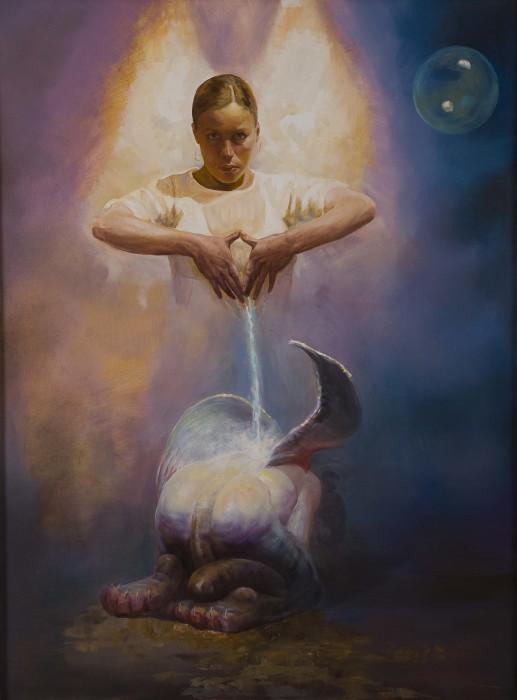 Поток энергии. Автор: Dariusz Kaleta.
