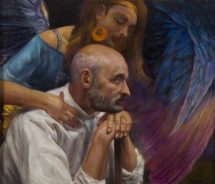 Синяя птица. Автор: Dariusz Kaleta.