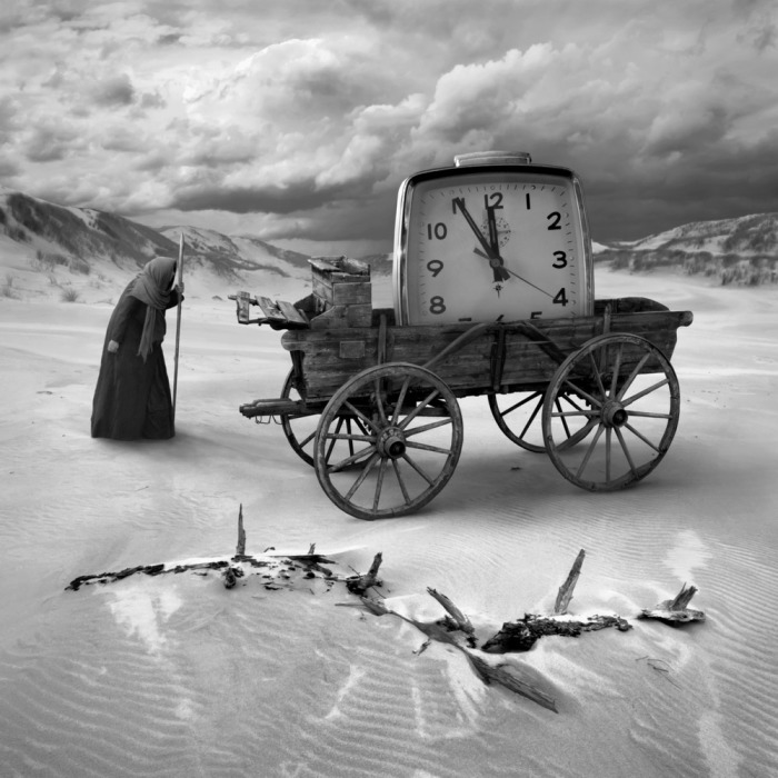 Старые часы, или наперегонки со временем. Автор: Dariusz Klimczak.