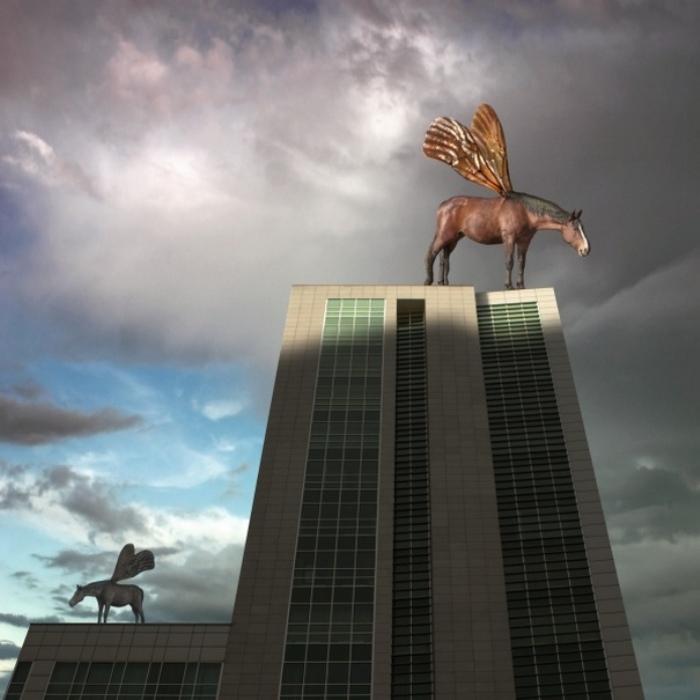 Крылатые лошади. Автор: Dariusz Klimczak.
