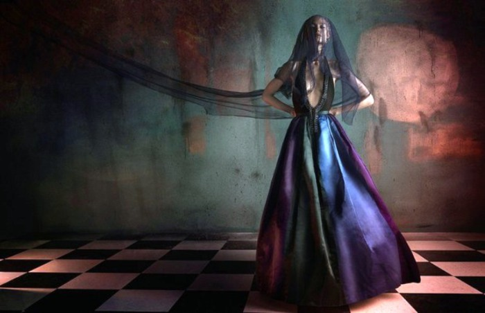 Модная серия портерных работ от фотографа Дэвида Бенолье (David Benoliel) для издания «Fashion Gone Rogue».