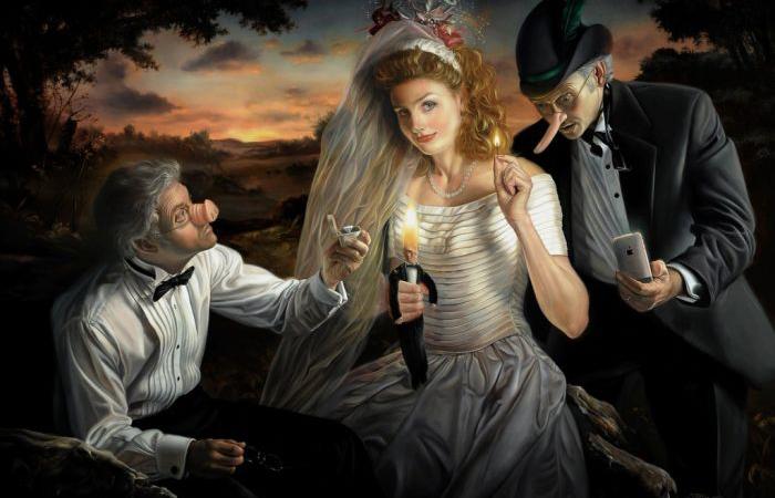 Свадьба Буратино. Автор: David Michael Bowers.
