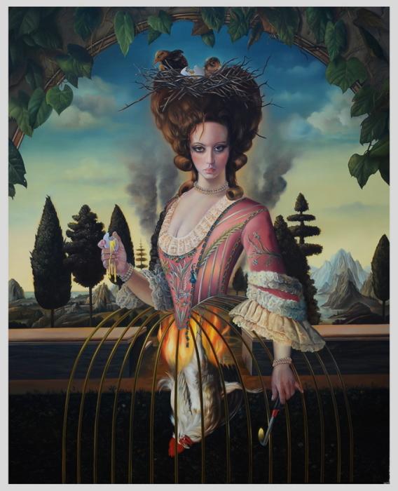 Тёмный реализм: Провокационные картины по мотивам рассказов Маркиза де Сада