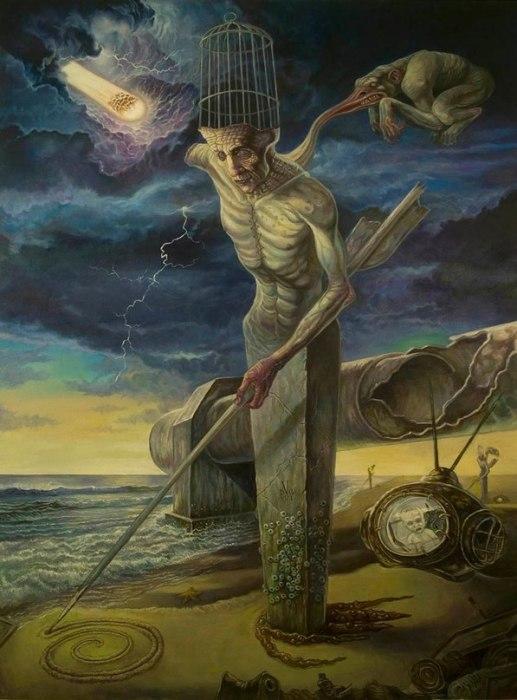 Тот, кто умирает, оплачивает все долги. Автор: David Van Gough.
