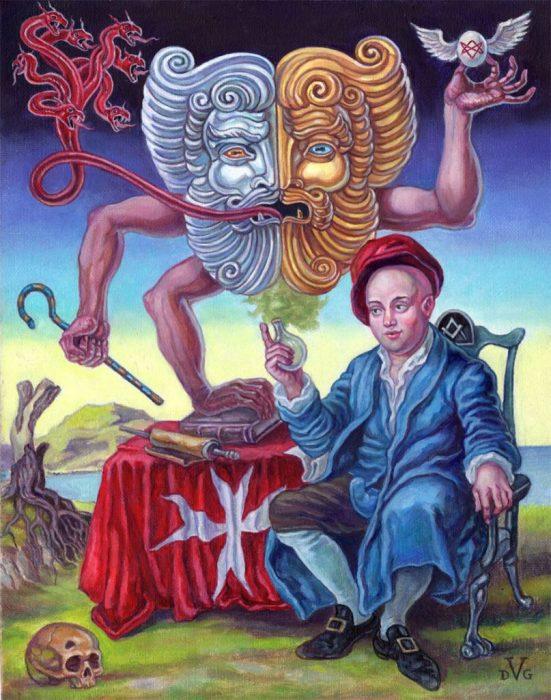Праздник Калиостро. Автор: David Van Gough.