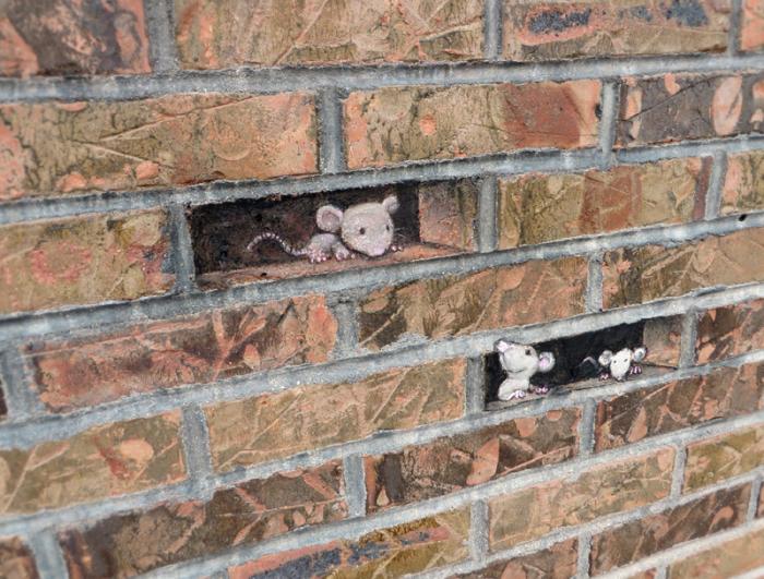 Тише, тише, в доме мыши.