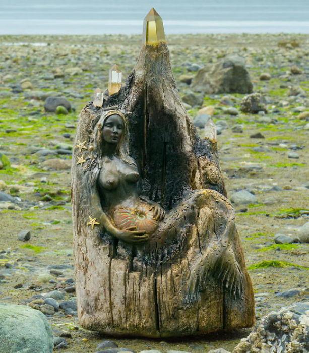Морской хранителей. Автор: Debra Bernier.