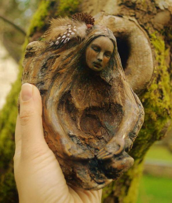 Лесной дух. Автор: Debra Bernier.