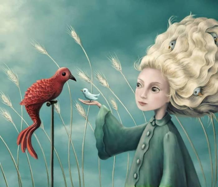 Птичье гнездо. Автор: Demelsa Haughton.