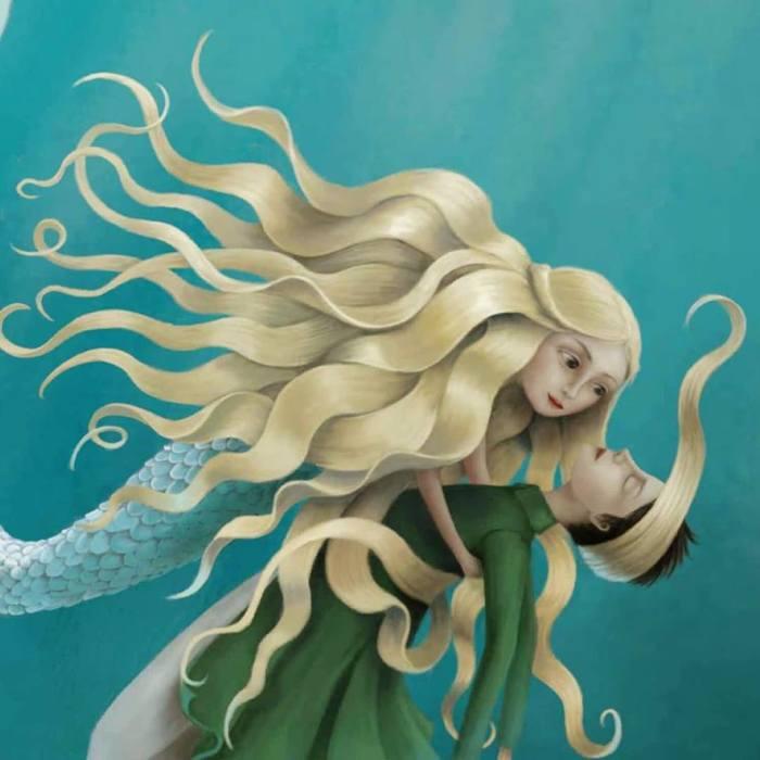 Маленькая русалочка. Автор: Demelsa Haughton.