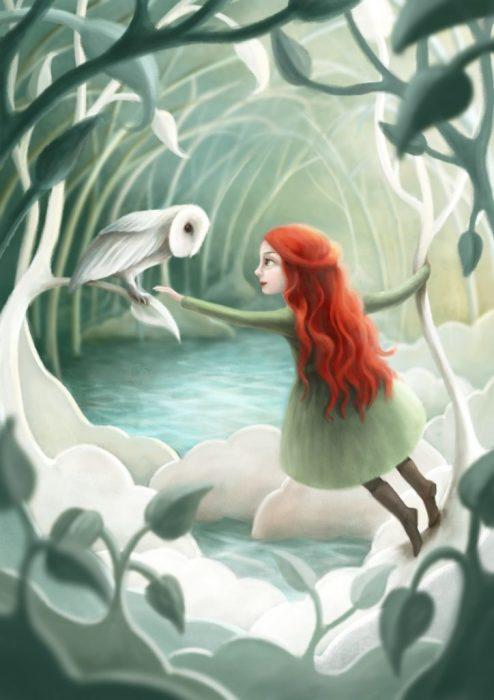 Таинственное озеро. Автор: Demelsa Haughton.