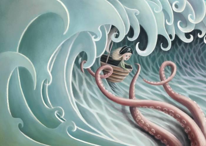 Храбрый пират. Автор: Demelsa Haughton.