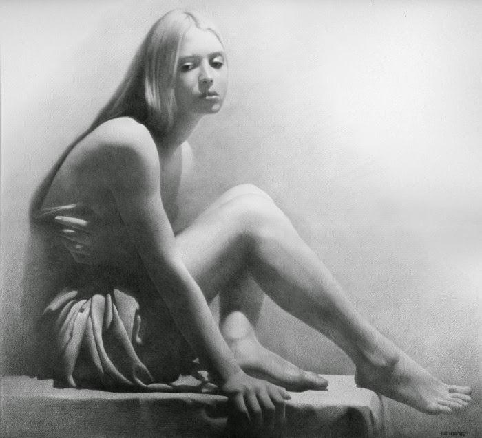 Модель III. Автор работ: украинский художник Денис Чернов <em>обнаженку</em> (Denis Chernov).