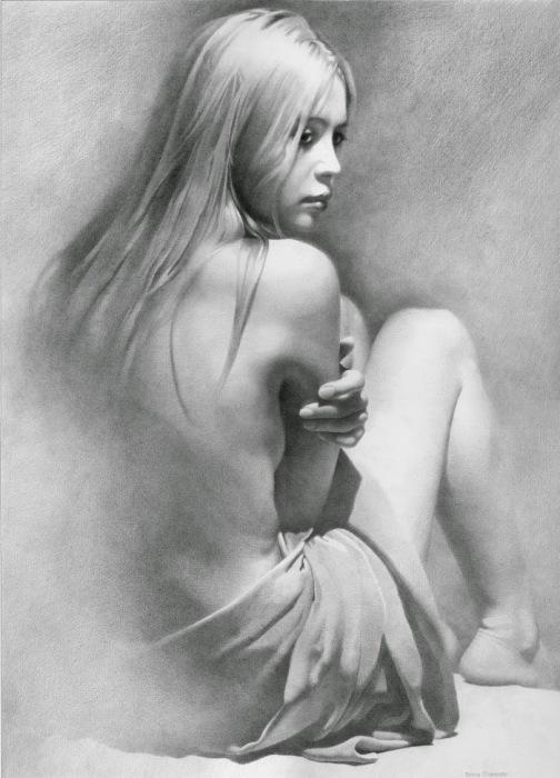 Модель VI. Автор работ: украинский художник Денис Чернов (Denis Chernov).