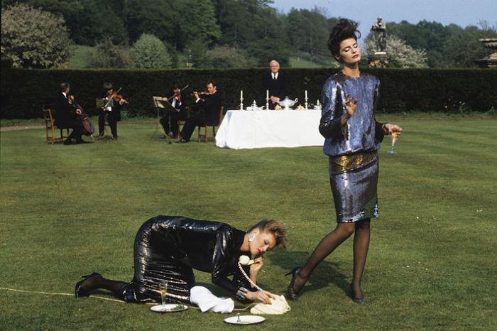 Джоан Северанс, Нэнси Донаху, Vogue, 1982 год. Автор: Denis Piel.