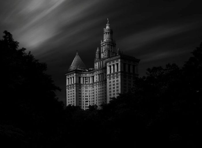 Муниципальное здание Манхэттена. Автор фото: Дэннис Рамос (Dennis Ramos).