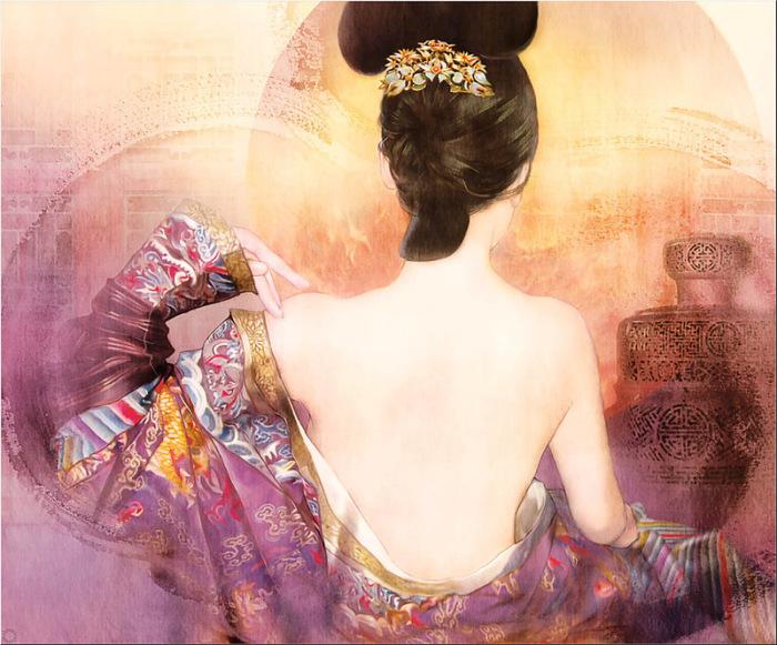 Традиционная китайская живопись в работах тайваньской художницы Дер Джен (Der Jen).