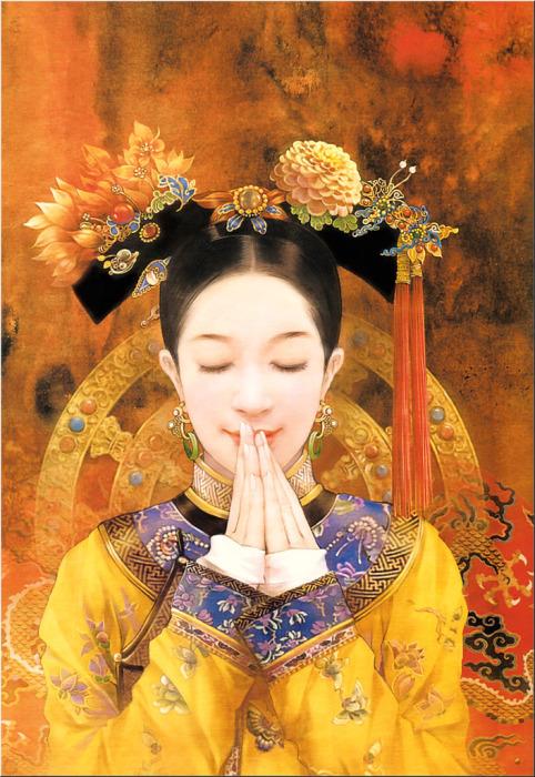 Экзотическая красота азиатских девушек в работах тайваньской художницы Дер Джен (Der Jen).