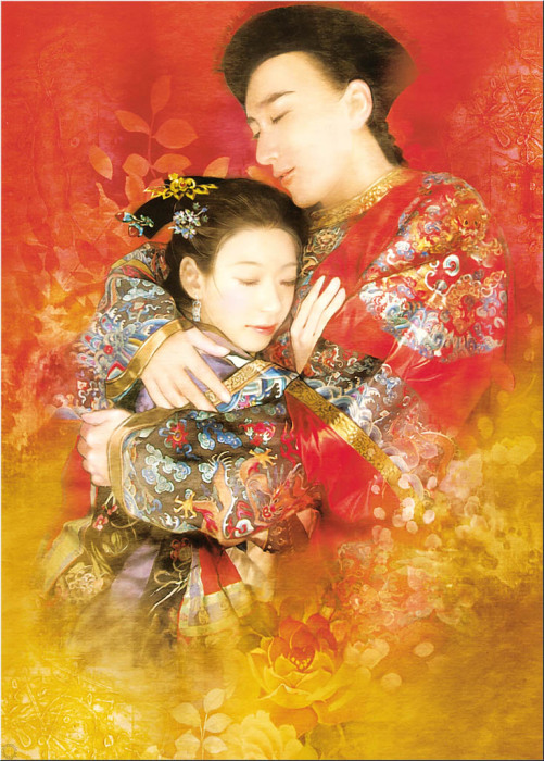 Азиатский колорит в работах тайваньской художницы Дер Джен (Der Jen).