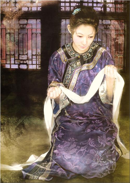 Китаянки в работах тайваньской художницы Дер Джен (Der Jen).