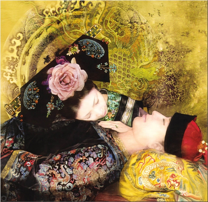 Азиатские мотивы в работах тайваньской художницы Дер Джен (Der Jen).