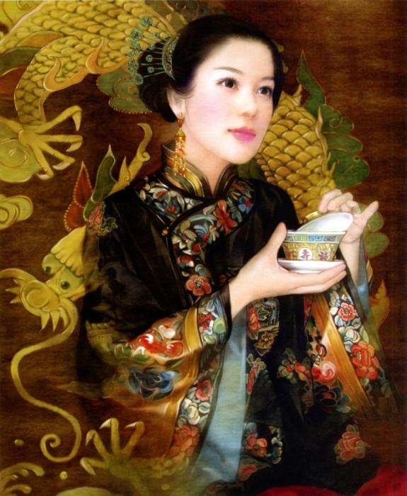 Очей очарование. Китаянки в работах тайваньской художницы Дер Джен (Der Jen).
