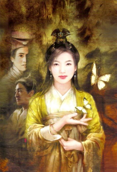 Утонченная натура. Портреты китаянок в работах тайваньской художницы Дер Джен (Der Jen).