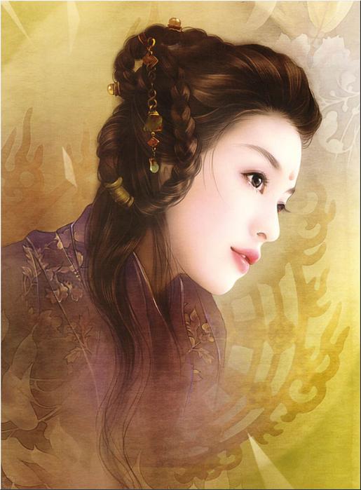 Нежнее шёлка. Китаянки в работах тайваньской художницы Дер Джен (Der Jen).