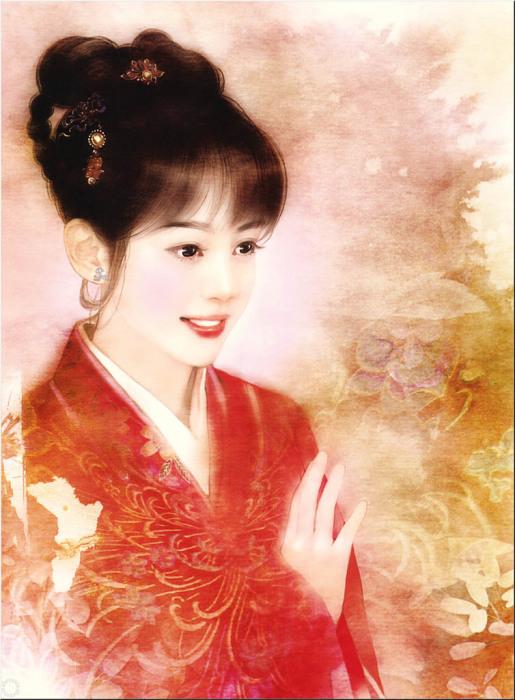 Нежные образы китаянок в работах тайваньской художницы Дер Джен (Der Jen).