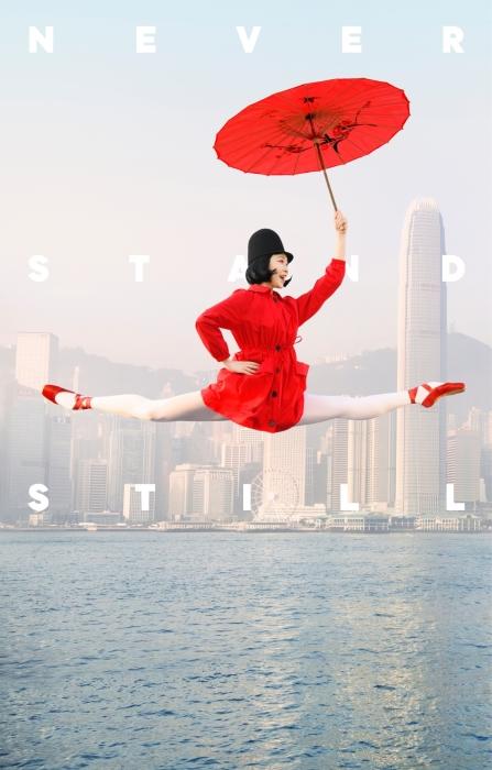 Знаменитый Гонконгский балет никогда не стоит на месте. Авторы: Design Army и Dean Alexander.