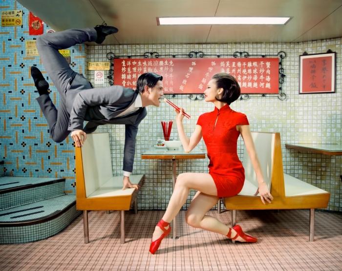 Танцоры Гонконгского балета на креативных снимках творческой группы Design Army.