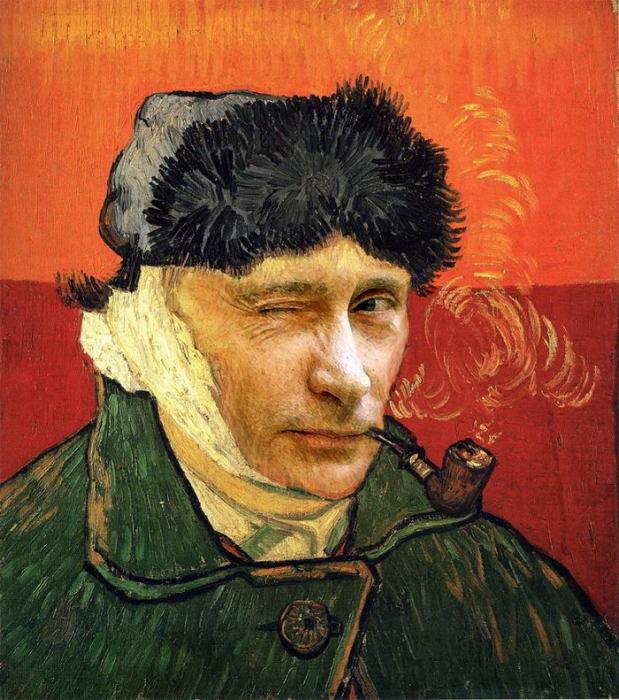 Владимир Ван Гог. Автор: RBJK515.