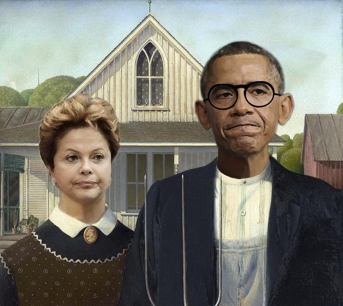 Барак Обама. Автор: Designcrowd.