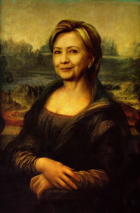 Хиллари Клинтон. Автор: DutchPuh.