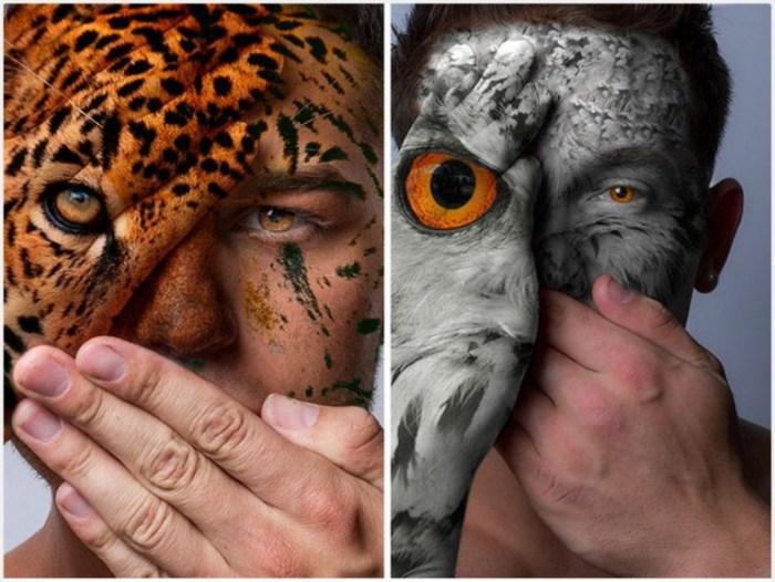 Потрясающий фото-проект «Дикие лица» от Девина Митчелла (Devin Mitchell).