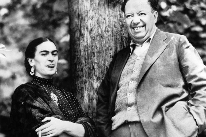Диего Ривера и его жена Фрида Кало. \ Фото: vox.com.