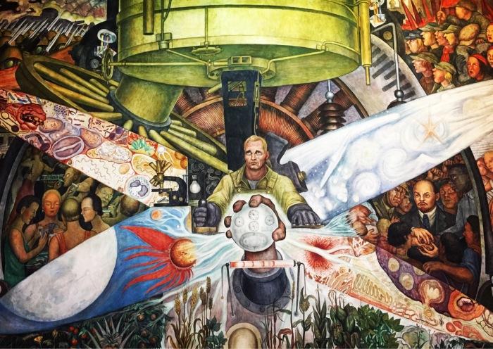 Человек на распутье. Автор: Диего Ривера. \ Фото: trover.com.