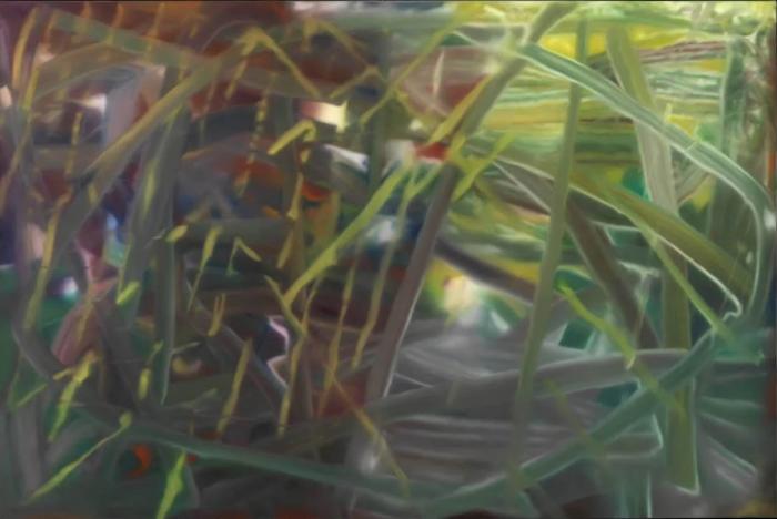 Абстрактная картина № 439 Герхарда Рихтера, 1978 год. \ Фото: yandex.ua.