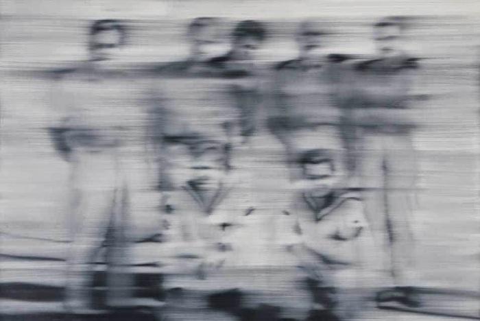 Matrosen Sailors, Герхард Рихтер, 1966 год. \ Фото: blogspot.com.