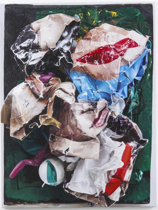 Причудливая работа Нейла Галла. \ Фото: artsy.net.