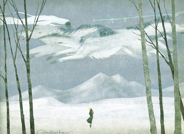 Бес ветра, Северный. Авторские  работы Дмитрия Резчикова (Dim Rezchikov).