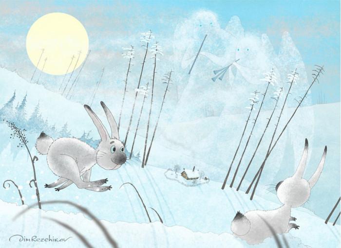 Февральские ветры. Авторские  работы Дмитрия Резчикова (Dim Rezchikov).
