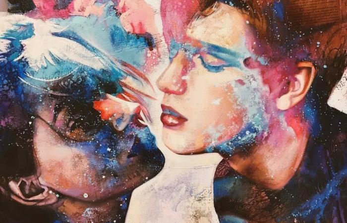 Чувственные картины восемнадцатилетней Димитры Милан.