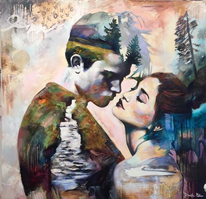 Когда в сердце живёт любовь. Автор: Dimitra Milan.