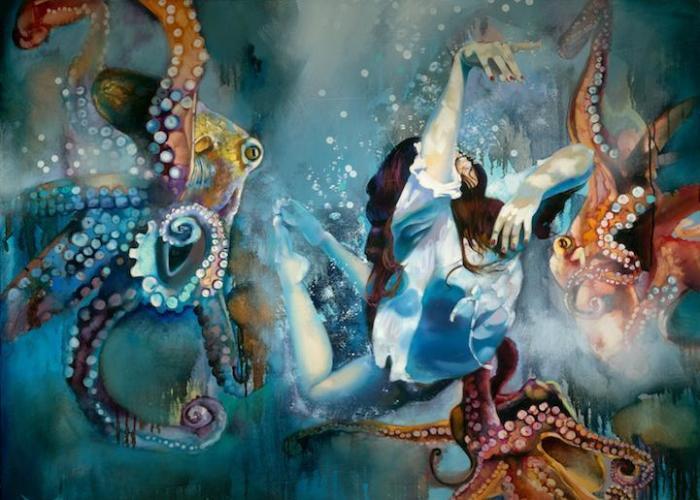 Морские глубины. Автор: Dimitra Milan.