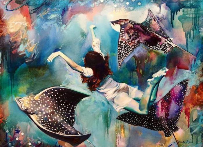 Глубинные танцы. Автор: Dimitra Milan.