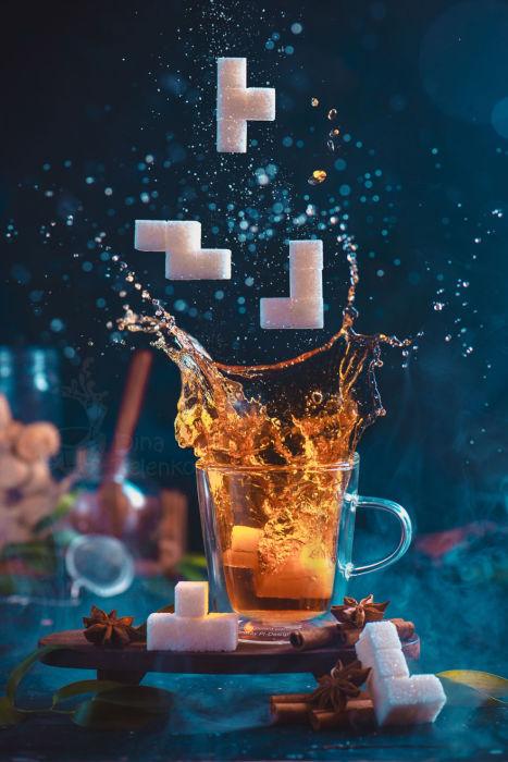 Чайный тетрис. Часть 1. Автор: Дина Беленко.