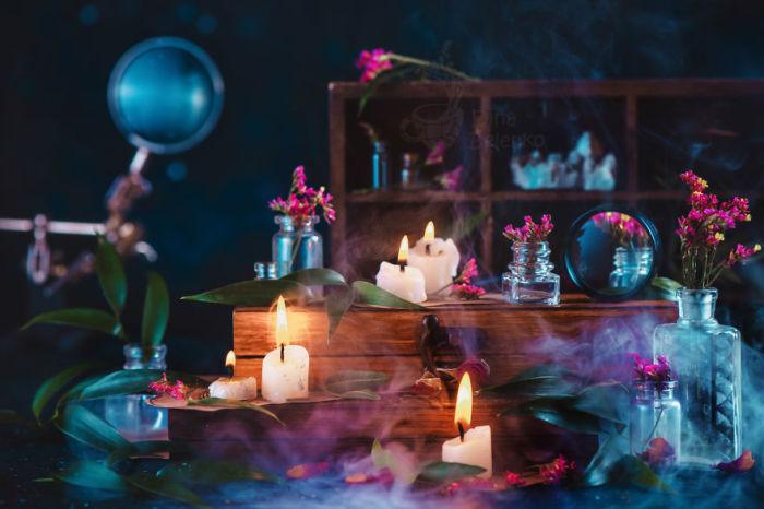 Коллекция свечей. Автор: Дина Беленко.