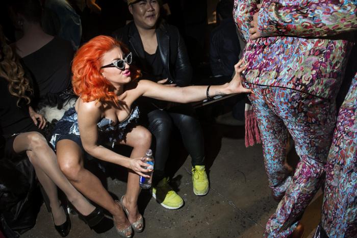 Неделя моды, Нью-Йорк, 12 февраля 2013 г. Автор фото: Dina Litovsky.
